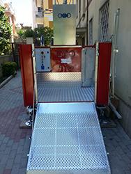 Montacarichi Piattaforme Di Trasporto Ponteggi Elettrici